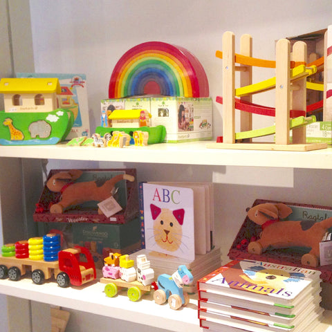 Wooden toys at Bambino Manly