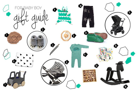 Babiekins magazine features Kippins in boys Christmas gift guide