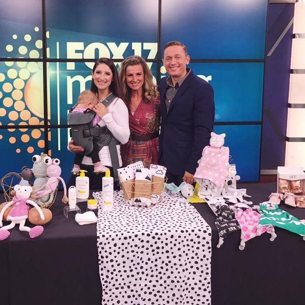 Kippins products featured on Fox17s Morning Mix show