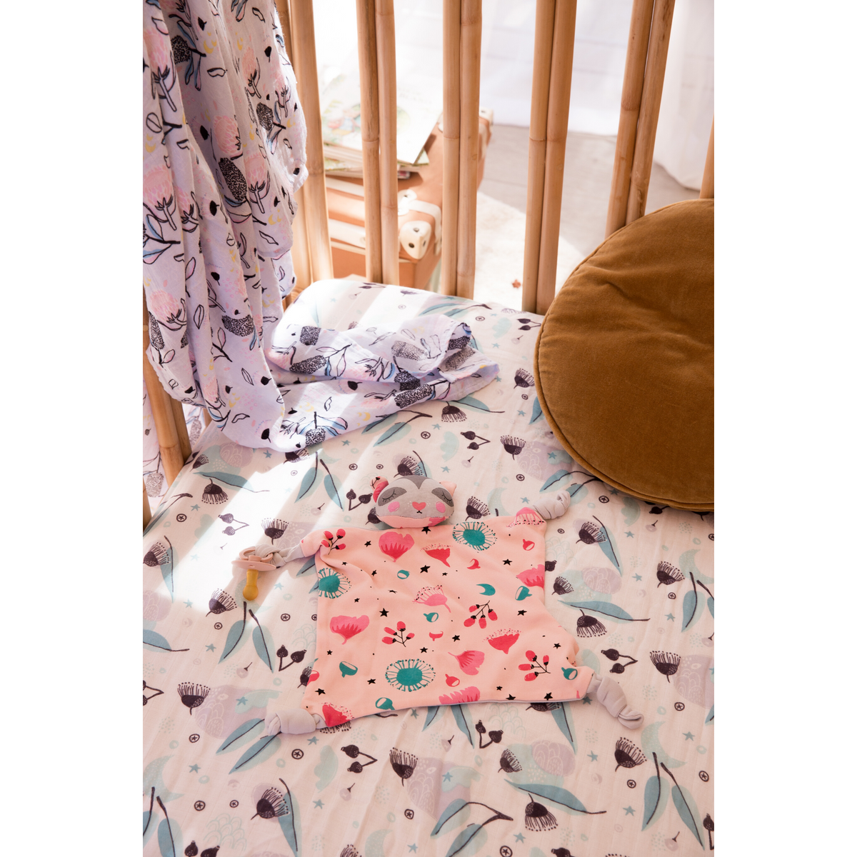 Blankie + Cot Sheet Bundle - Banjo