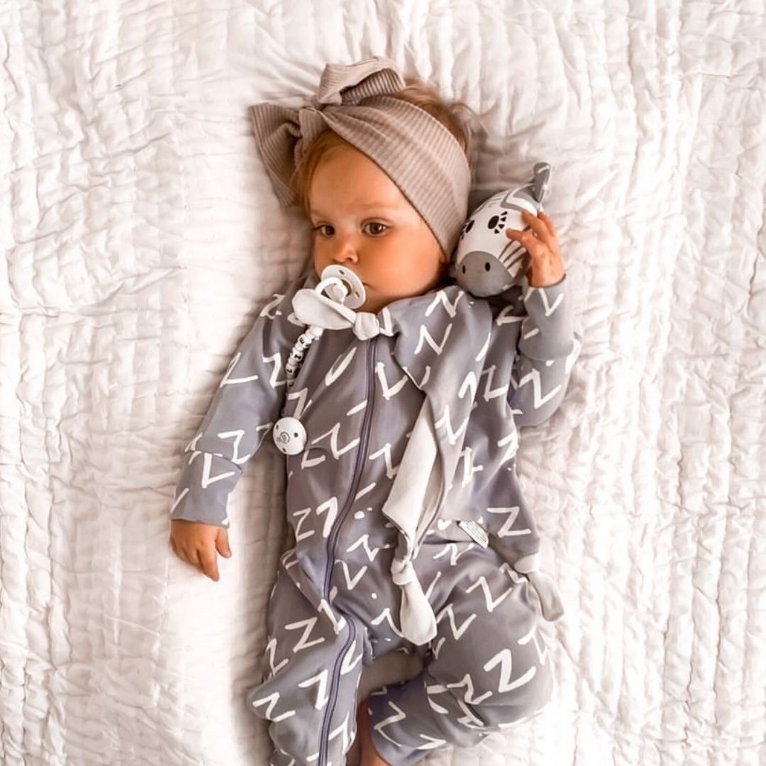 Beanie & Blankie Set - Bam the Zebra