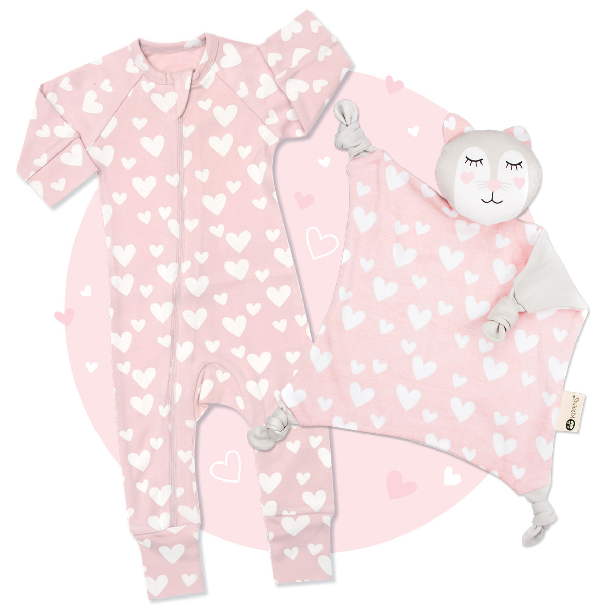 Kitty Kip 'n' Cuddle Sleep Kit - Long Sleeve