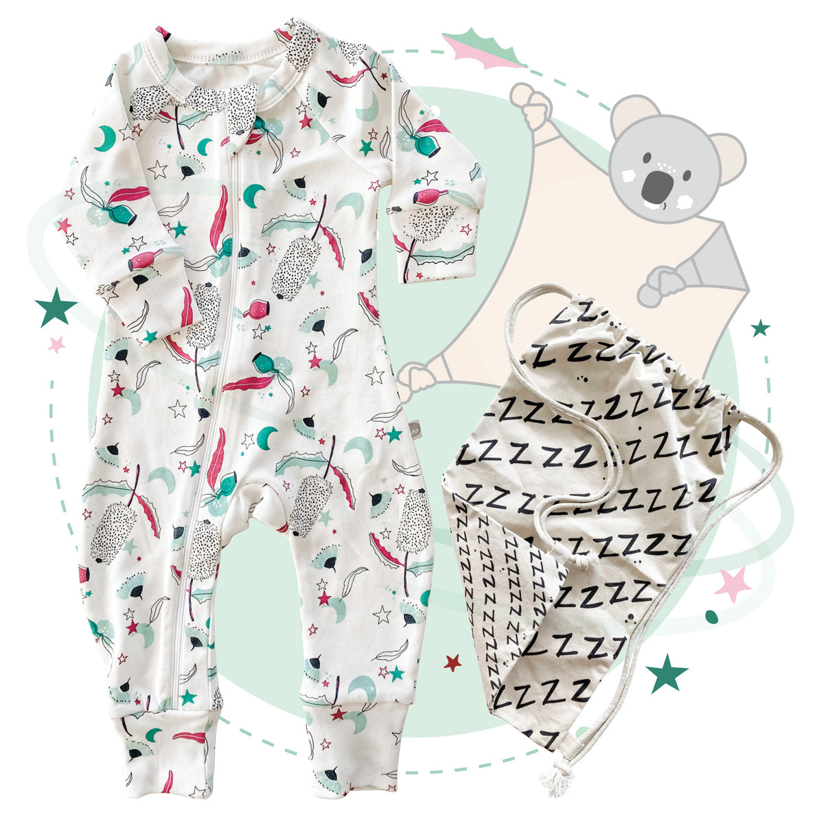 Jolly Napper Christmas Kit (choose your Blankie). FREE NAPSACK