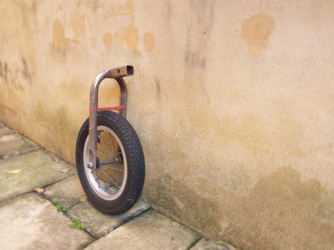 Simple trundle wheel on a wall how to make a trundle wheel home made math