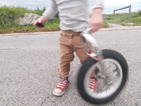 How to make and use a simple trundle wheel home made math