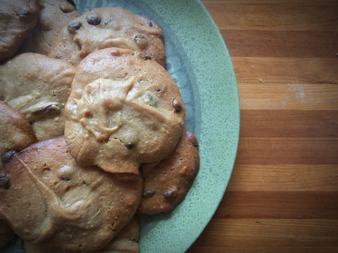 Peanut butter cookies gluten free fractions cooking maths home made math