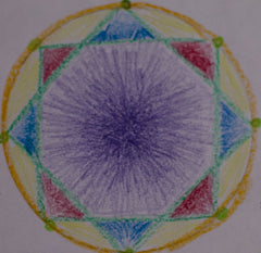 circle art number 8 beauty of play