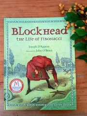 Blockhead life of fibonacci picture books for math booklist homeschool maths home made math