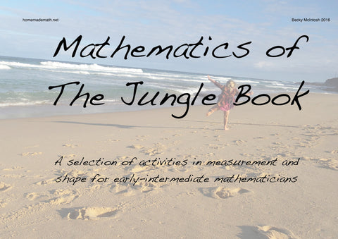 Mathematics of The Jungle Book (early intermediate)