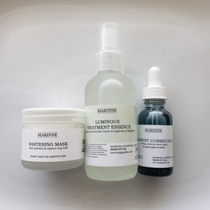 Simple at home treatment for dark spots, hyperpigmentation and uneven skin tones