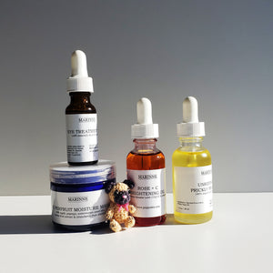 Skincare made with luxurious fruit / plant seed oils