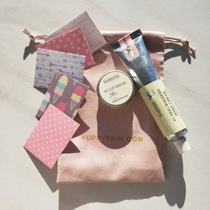 #1 Hand Cream + Lip Balm Set