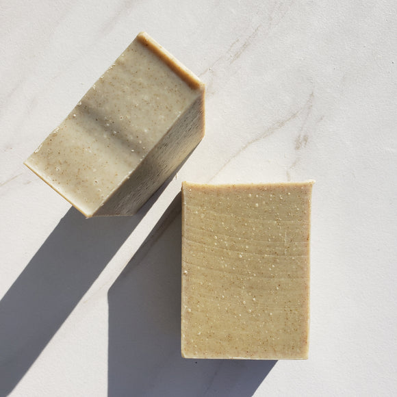 Moringa Mint Bastille Soap - 72% Olive Oil
