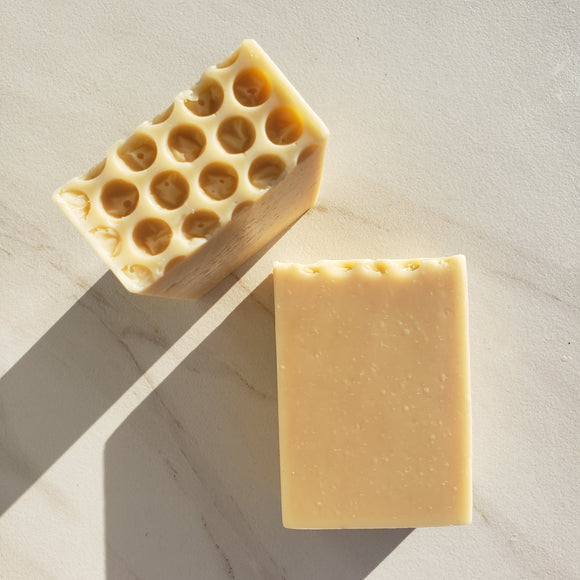 Honey Oatmeal Bastille Soap - 85% Olive Oil