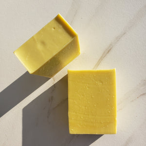Hemp Lemongrass Bastille Soap - 90% Olive Oil