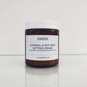 Oatmeal & Soy Milk Butter Cream - with 2% Colloidal Oatmeal for Ezcema Relief
