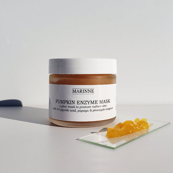 Pumpkin Enzyme Mask (with 5% Glycolic Acid, Papaya & Pineapple Enzymes)
