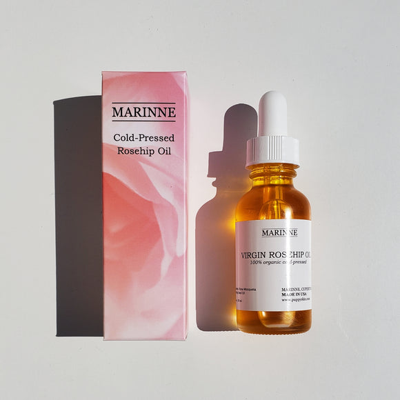 100% Cold Pressed Virgin Rosehip Oil