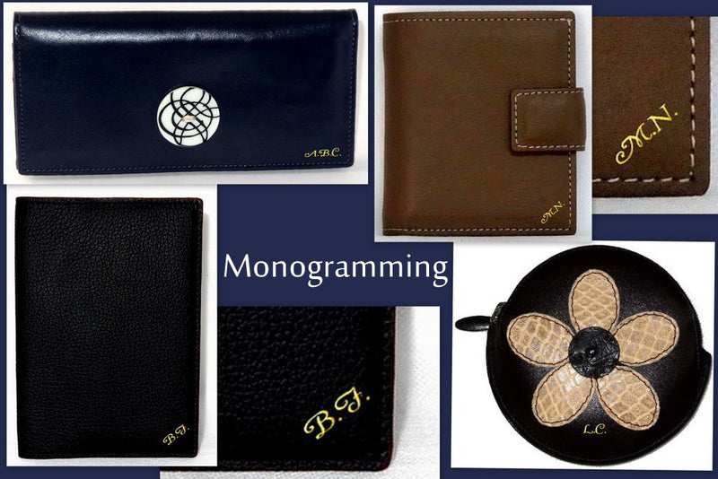 Monogramming - Personalise your purchase