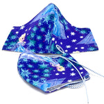 Face Mask - Washable cotton cloth with filter pocket model - frozen print