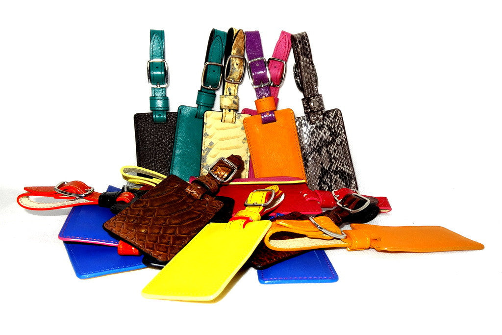 Luggage Tags leather group