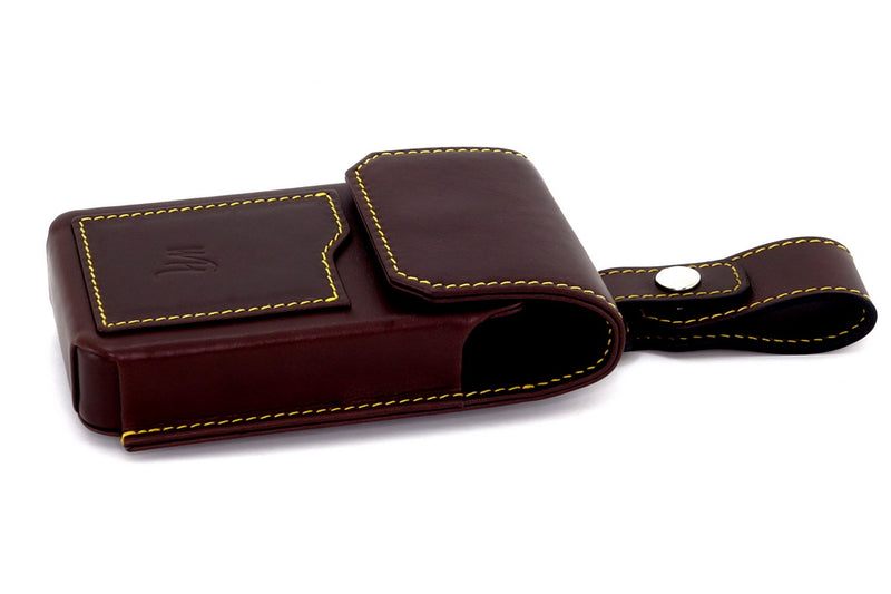 Dark Brown holster style phone case
