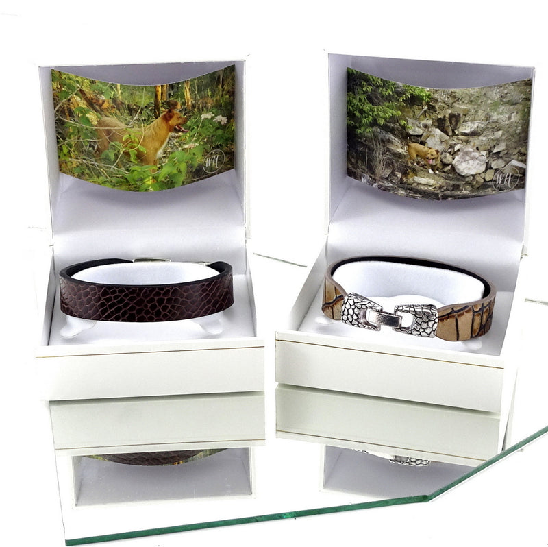 Lawrence sisters wrist straps leather jewellery boxed