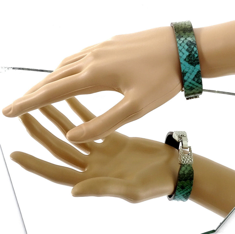 Lawrence sisters wrist straps leather jewellery medium size