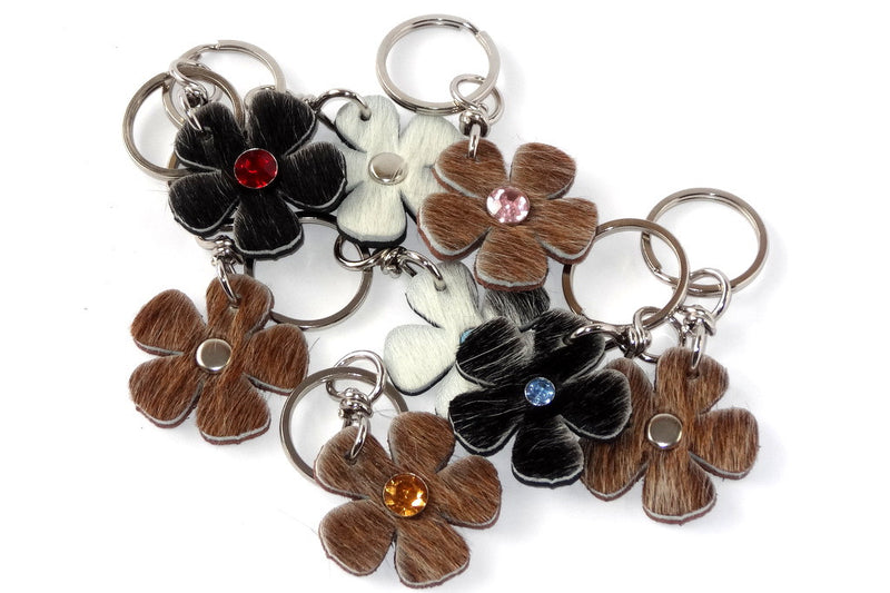 Key tags  Hair on hide flowers group