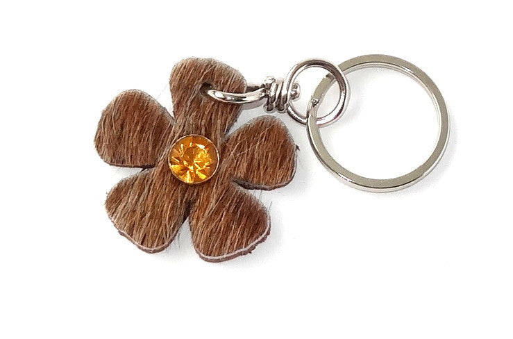 Key tags  Hair on hide flowers
