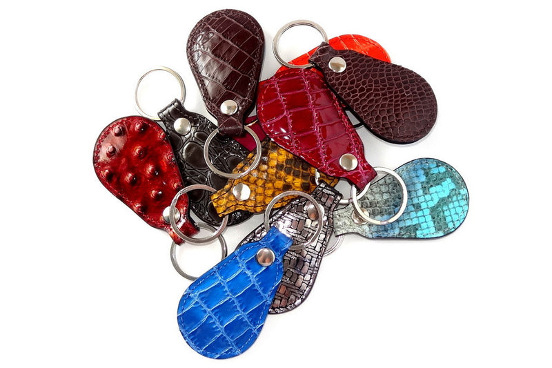 Key tags  Mandolin Leather printed group