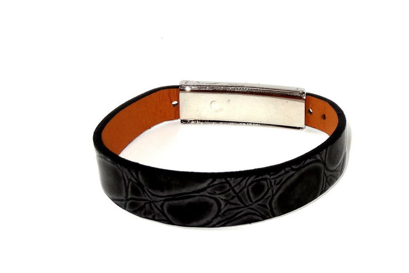 Robin  Wrist straps Leather jewellery wristband