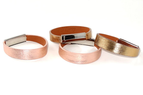 Robin  Wrist straps Ostrich leather jewellery
