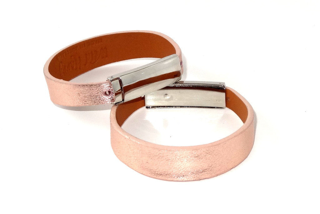 Robin  Wrist straps Sheep skin leather jewellery wristband