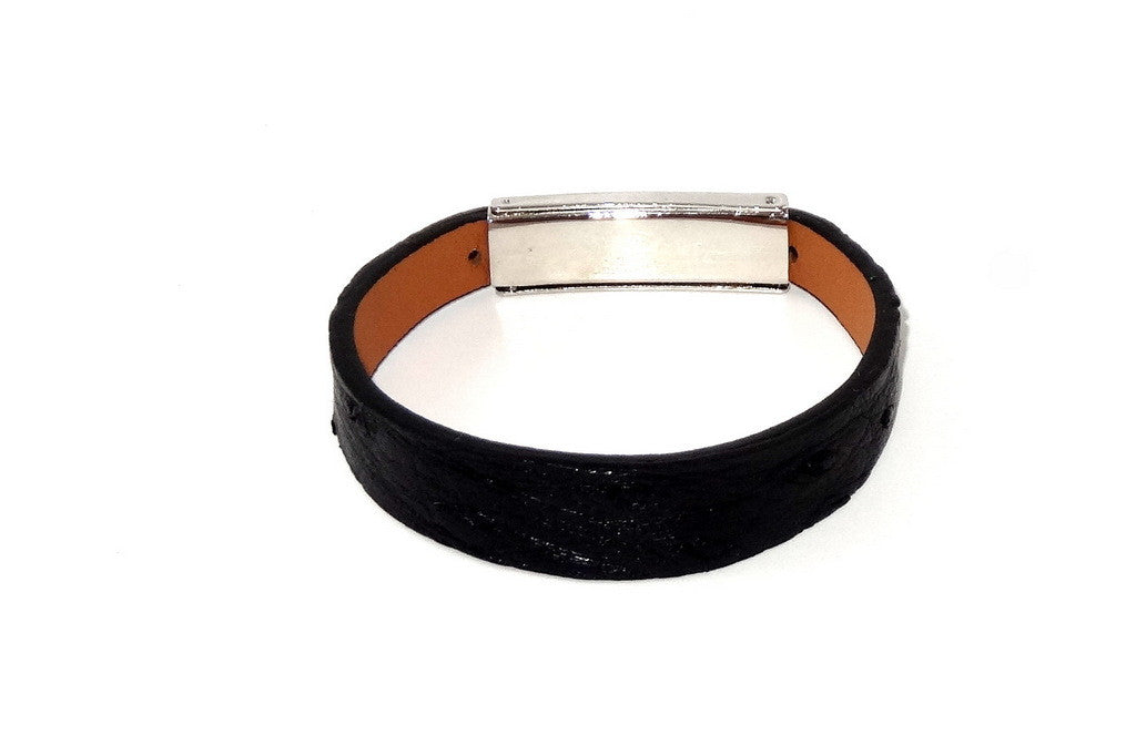 Robin  Wrist straps Ostrich leather jewellery wristband