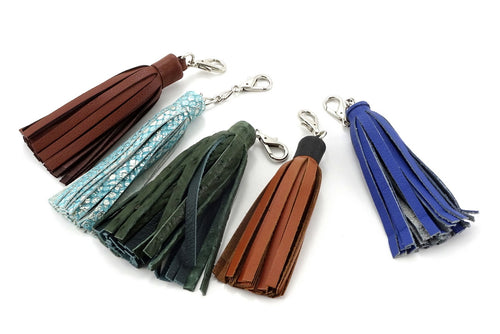 Tassels leather