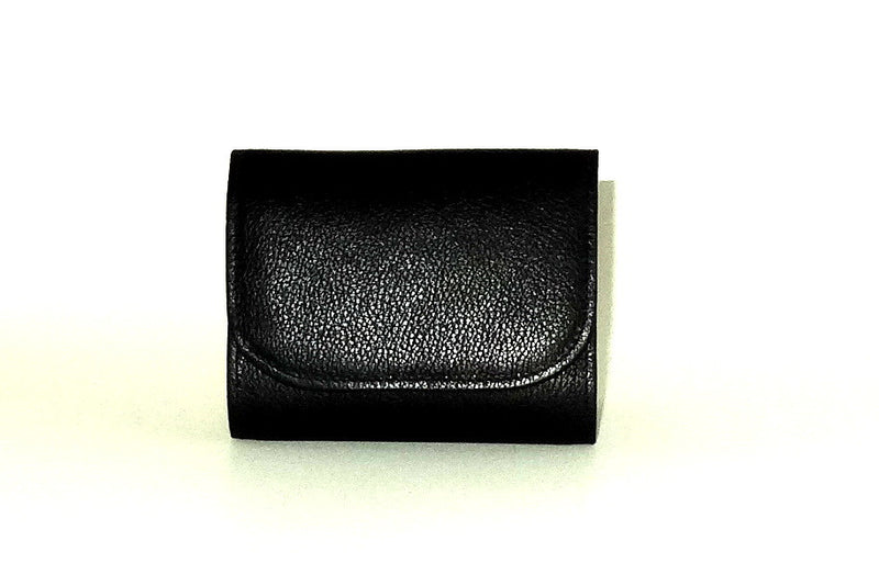 Dorothy  Trifold purse - Black leather ladies wallet