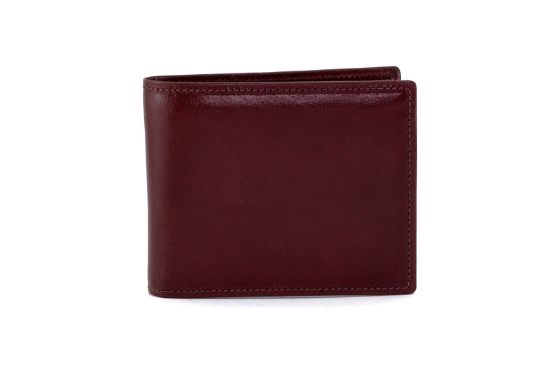 Martin  Brown smooth leather men's large hip wallet front view