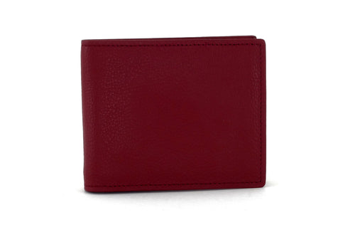 Martin  Chilli leather men's wallet with brown front view