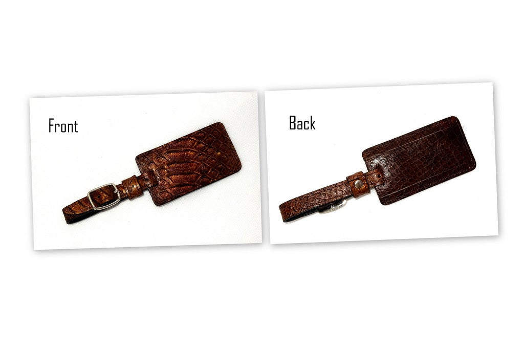 Luggage Tags leather