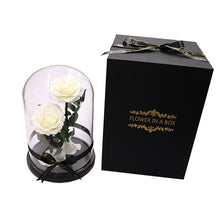 Load image into Gallery viewer, Enchanted Rose Deux- WHITE - flower in a box