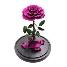 Load image into Gallery viewer, Enchanted Rose - PURPLE - flower in a box