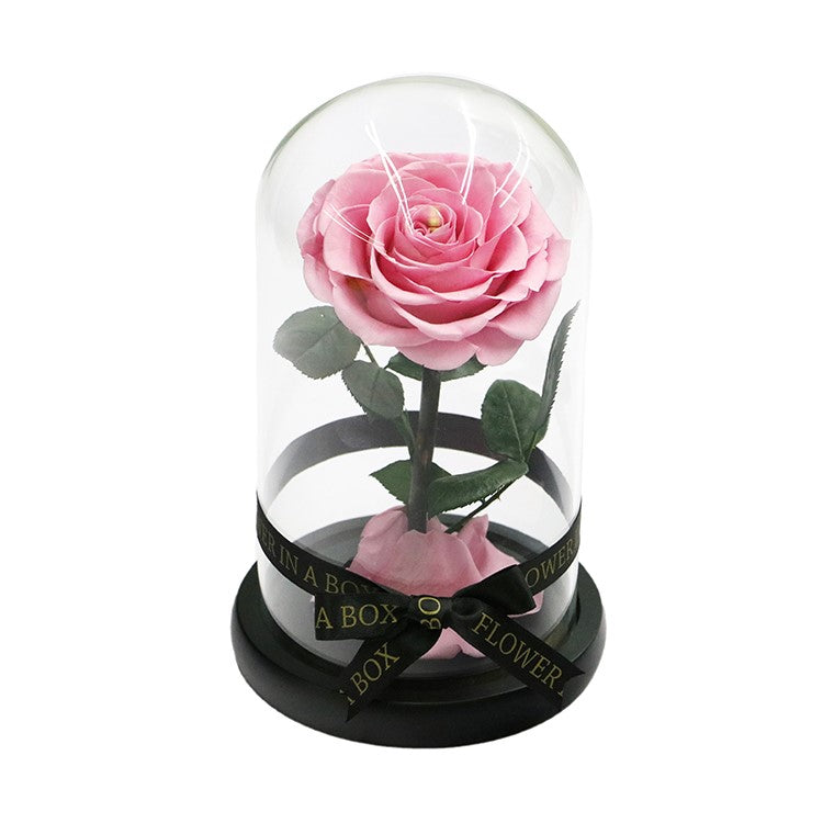 Enchanted Rose Mini - LIGHT PINK - flower in a box
