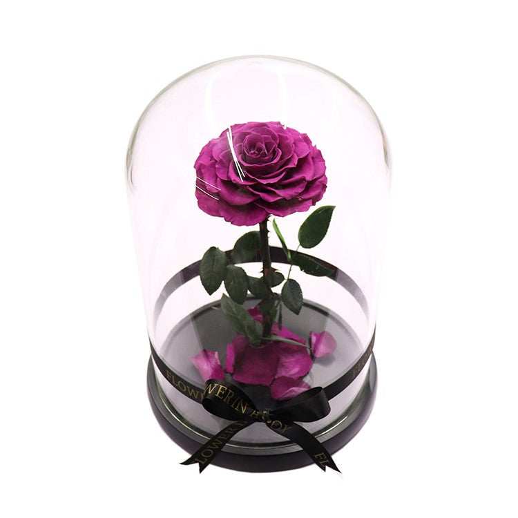 Enchanted Rose - PURPLE - flower in a box