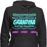 Never Stand Between A Grandma And Her Grandkids - horsin around