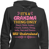 It's A Grandma Thing Only Grandkids Will Understand - HorsinRound - 4