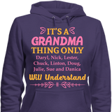 It's A Grandma Thing Only Grandkids Will Understand - HorsinRound - 5