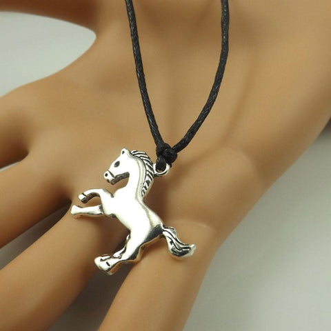 Wax Cord Horse Necklaces - Season Finds