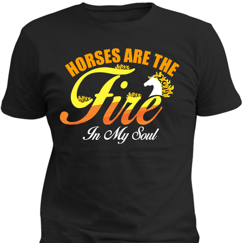 Horses The Fire In My Soul - HorsinRound - 1