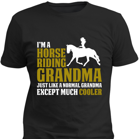Horse Riding Grandma - HorsinRound - 1